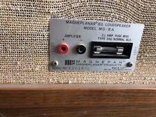 Magneplanar loudspeaker MG-ii A
