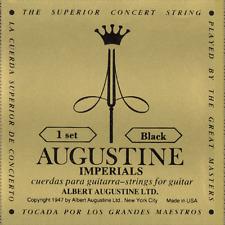 Jeux de Cordes Imperial Black AUGUSTINE Pour Guitare Classique