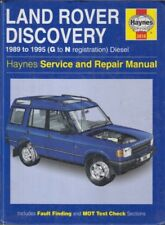 LAND ROVER DISCOVERY 2.5 TDI DIESEL 1989 - 1995 SERVICE & REPAIR MANUAL