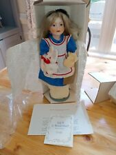 """Franklin Heirloom Fairy Tale Doll Collection - """"Alice In Wonderland"""""""