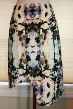 NWT finders KEEPERS Seen It All Skirt Sz Large Graphic Floral Asymetric