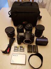 Canon EOS 30D Set, inkl. 4 Objektive, Tasche, Zubehörpaket, Spiegelreflexkamera