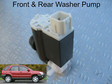 Front & Rear Windscreen Washer Pump For Kia Sportage 2005 to 2010 Mk2