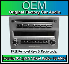 Porsche 911 997 CDR24 cd player, Harman Becker BE 6645 radio Decoded Plug & Play