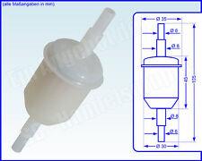 Bosch Benzinfilter Kraftstofffilter 0 450 904 058  F 4058 - 8mm Anschluss