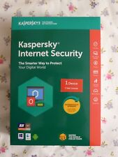 NEW Kaspersky Internet Security 2018 - 1 Device 1 Year protection WN30