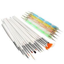 20pcs Nail Art Design Set Dotting Painting Drawing Polish Brush Pen Tools