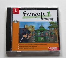 Cornelsen Lernsoftware Francais interactif 1 französisch 1. Lehrjahr