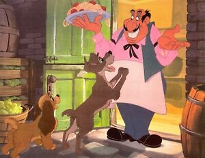 Lady And The Tramp Animation Cel Reproduction