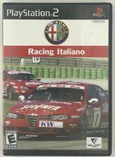 Alfa Romeo Racing Italiano (PS2) *New,Sealed*