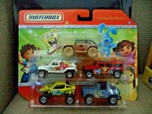 Matchbox Nickelodeon Blues Clues Dora Spongebob Diego Wonder Pets 2009 *NEW*