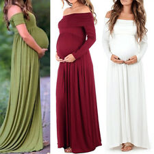 Pregnant Women Photography Dress Maternity Maxi Gown Wedding Party Dresses