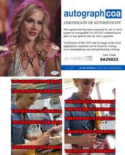 Rare JULIE BENZ signed Autographed 8X10 PHOTO f PROOF Angel DEXTER Sexy ACOA COA