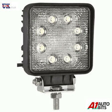 8 LED POWERFUL FRONT REAR LIGHT FOR TRUCKS TRACTORS SUV 4 x 4