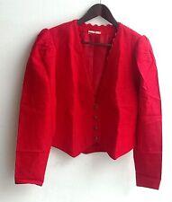 Damen Trachten Janker Jacke rot Gr. 42