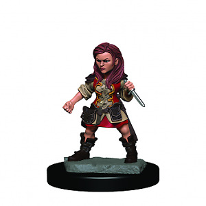 D&D Icons of the Realms Premium Figures: Halfling Female Rogue (6 Units)