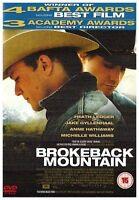 Brokeback Mountain DVD Jake Gyllenhaal Heath Ledger New Sealed Original UK R2