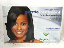 3 Johnson Products Gentle Treatment NO LYE CONDITIONING CREME Relaxer NIB BXQ