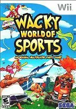 Brand NEW Wacky World Of Sports (Wii, 2009)   Nintendo WII SEALED