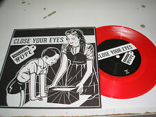 """Close Your Eyes - Prepackaged Hope 7"""" EP new red vinyl Victory w/ download RSD"""
