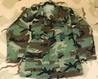USAF Air Force Camo BDU Shirt Force Protection & Security Forces Badges