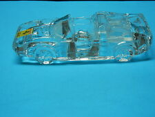 FERRARI 328 GTS GLASS LEAD CRYSTAL CAR PAPER WEIGHT IN EXCELLENT CONDITION