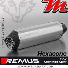 Silencieux Pot d'échappement REMUS Hexacone Inox Triumph Sprint GT 1050 2012