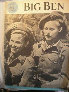 Free Holland Dutch Magazine 1945 British Army Military History Navy RAF