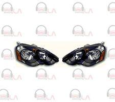 NTR2344B 2002-2004 Acura RSX Diamond Back HL Black/ Clear