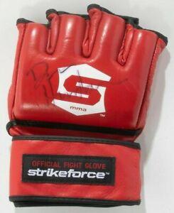 Dan Henderson Signed Official StrikeForce MMA Fight Glove PSA/DNA UFC Autograph