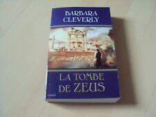 policier  LA TOMBE DE ZEUS - Barbara CLEVERLY
