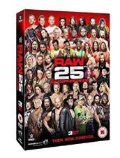 WWE Raw 25th Anniversary New DVD