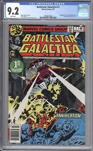 BATTLESTAR GALACTIC #1 - CGC 9.2 - 1979 / WHITE PAGES
