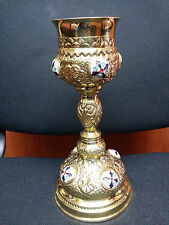 Chalice - Orthodox church Shiny brass Chalice only