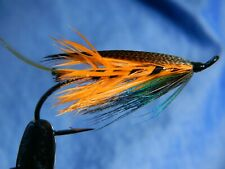Classic flies for Atlantic salmon fly fishing - Thunder and lightning spey #4