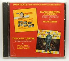 Danny Kaye: Hans Christian Andersen / The Court Jester NEW CD (Varese Sarabande)