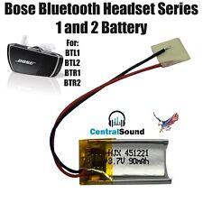 Bose Bluetooth Headset Series I II 1 2 BTL1 BTL2 BTR1 BTR2 Battery Part 3.7v 90m