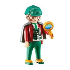 Sherlock Holmes Playmobil 4501 detective a Victorian polainas lupa capa gorra