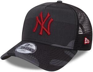 Ny Yankees New Era Kinder Mitternacht Tarnfarbe Trucker Kappe (4 - 12 Jahre)