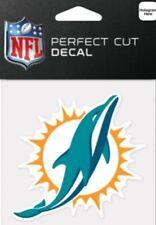 Miami Dolphins Logo 4x4 Perfect Cut Car Window Decal See Description