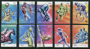 2000 Australia. Olympic Games (2nd issue).  Full set ordinary gum USED.