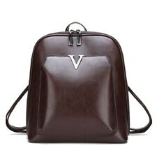 Women Vintage Backpack Leather Luxurious Large Capacity Leisure Shoulder Bags