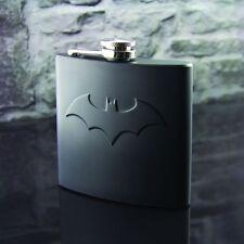 Batman Flachmann Dark Knight Hip Flask DC Comics Taschenflasche aus Edelstahl