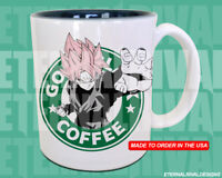 Goku Black Starbucks Anime Manga Japanese Insipred Cartoon Mug