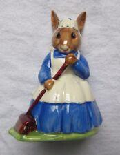 Royal Doulton Porcelain ( Clean Sweep ) Mrs. Bunnykins Figurine 1972
