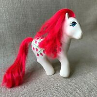 My Little Pony G1 Sugarberry Strawberry Twice as Fancy Vintage 1987 Hong Kong