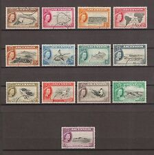 ASCENSION 1956 SG 57/69 USED Cat £80