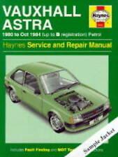 Vauxhall Vectra 1995 to 1998 Petrol & Diesel Service and Repair Manual (Haynes S
