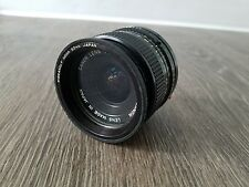 Canon 28mm F2.8 Wide Angle Lens FD  w/ Vivitar 52mm UV-Haze