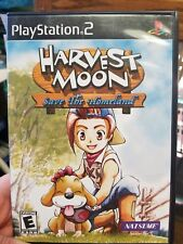 Harvest Moon Save The Homeland Sony PlayStation 2 2001 Complete Instructions